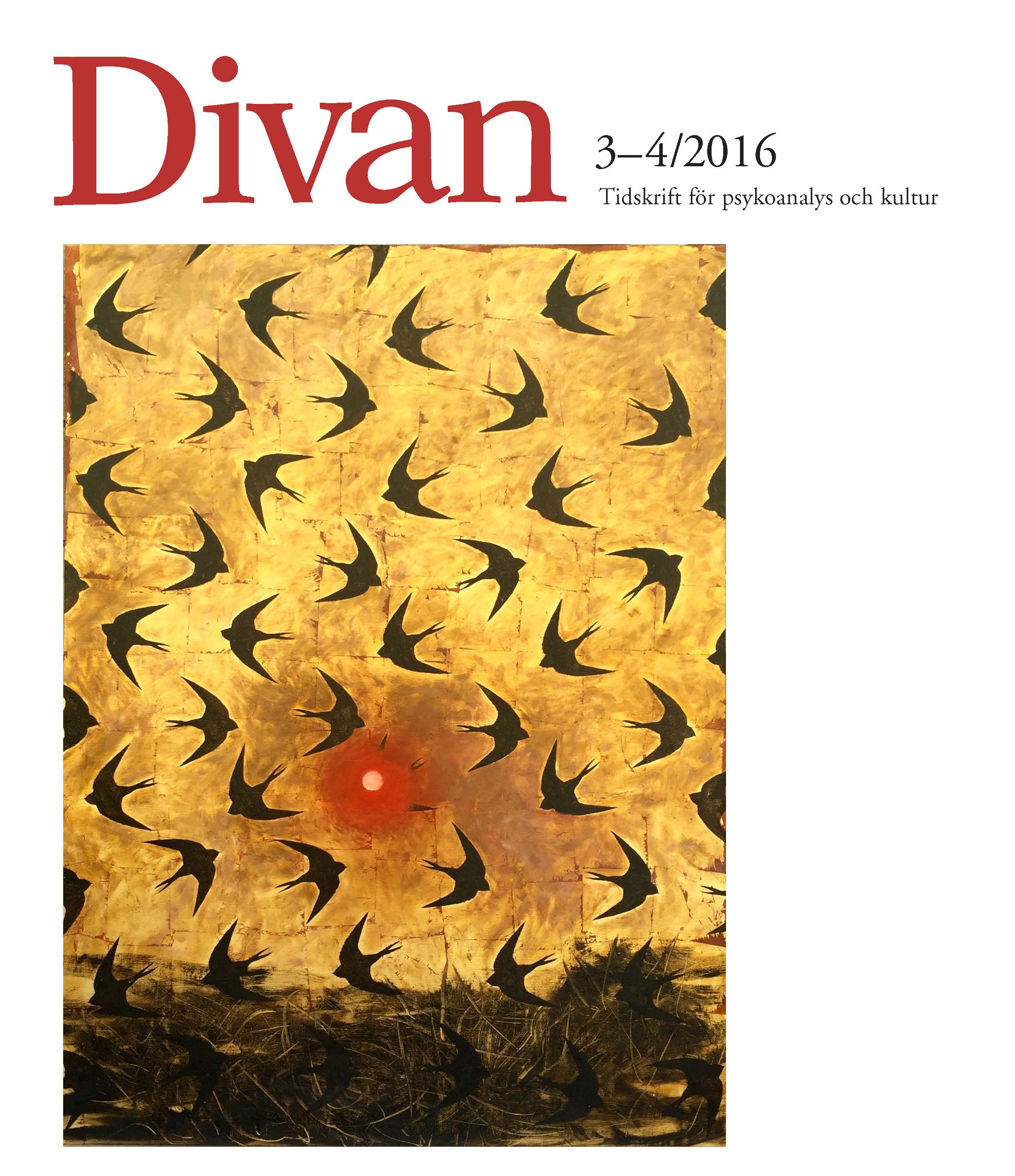 Divan 3 4 2016 omslag for Divan journal